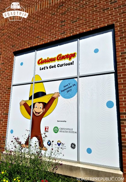 Greenville SC Upcountry History Museum Curious George Exhibit - Roadtrip Republic