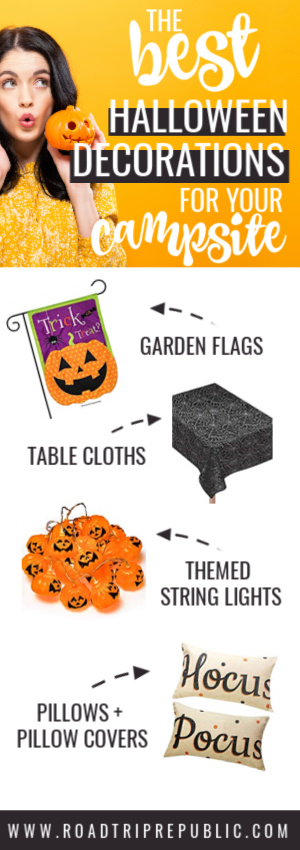 The best Halloween decorations for your campsite and RV.
